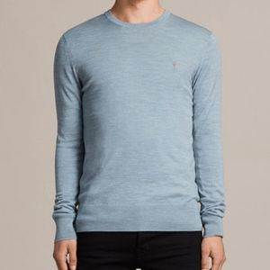 All Saints 100% merino wool crew neck sweater